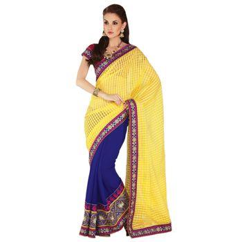 Elegant Designer Sari Gap1513