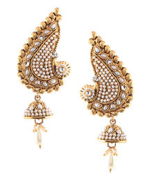 55 Off Ethnic Indian Bollywood Fashion Jewelry Set Traditional Cuff Dangler Earrings Danglers Drop Online