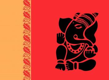 Welcome Ganesha Wall decal