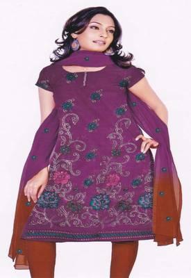 Just Women - Elegantly designed Unstitched Dress Material