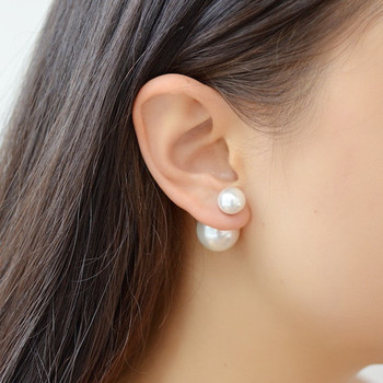 Pearl double side earcuff