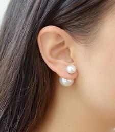 Buy Pearl double side earcuff jhumka online