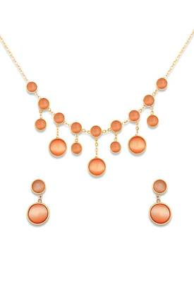 Just Women Enchanted Swarovski Crystal drop Necklace set