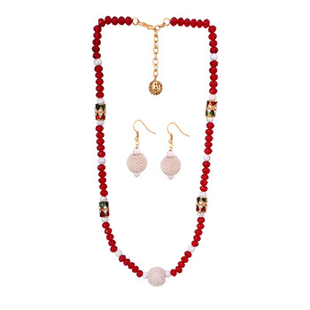 Crystal fashion necklace jewelry