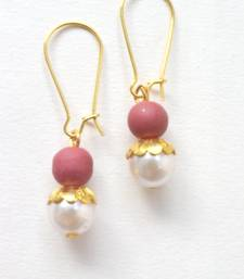 Buy Pearly Pearl Earrings danglers-drop online