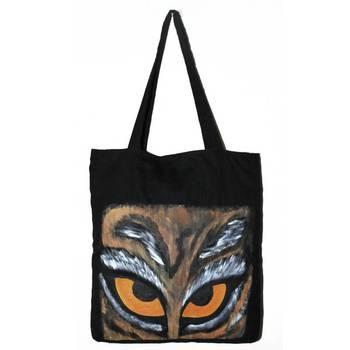 Rapt Eyes Tote Bag