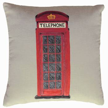 Telephone Booth Cushion Cover
