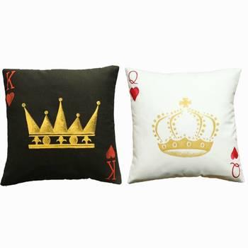 """""""King + Queen Cushion Covers  (Pair)"""