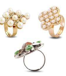 Buy Designer Rings Combo jewellery-combo online