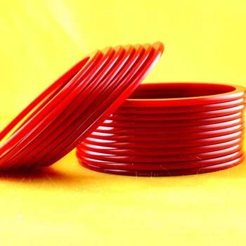 Acrylic  Plastic Rajasthani Bangle