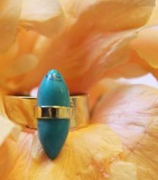 Buy Turquoise bullet ring Ring online
