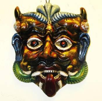 Terracotta Evil Mask