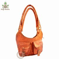 Handmade Leather Women Purse, Bag