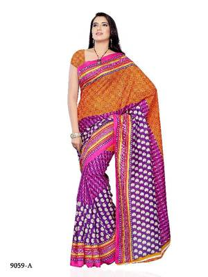 Amazing Designer Saree made from Jacquard Fabric by Diva Fashion, Surat