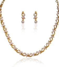 Buy STONE STUDDED FASHION NECKLACE SETS necklace-set online