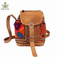 Stylish Embroidery Designs Handmade Leather Bag