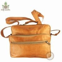 Handmade Travelling Mini Leather Bag