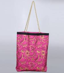 Buy Frusha Tote with handmade golden handle  tote-bag online