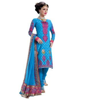 Hypnotex Pure Banarasi Jacquard Designer Dress Material 807