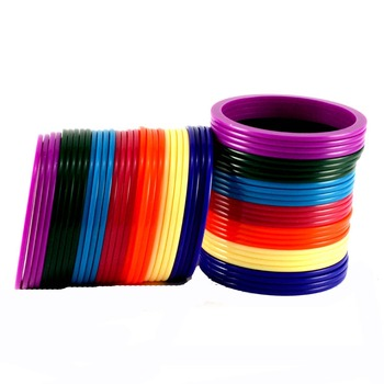 Extra Large Size Acrylic Bangle Color Multicolor