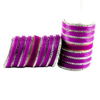 Extra Large Size Brass Bangle Color Rani
