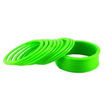 Extra Large Size Acrylic Bangle Color Light Green