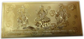 24 carat Gold Plated Sagun Envelopes