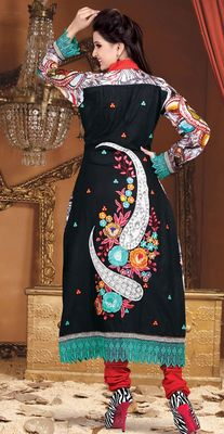 Printed Casual Bemberg Salwar Dress Material