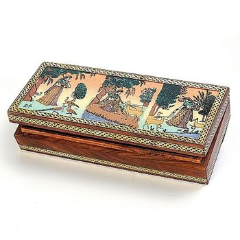 Real Gem Stone Jewellery Box-008
