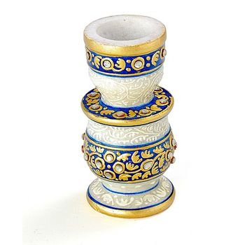 Marvel In Marble -Candle Stand-021
