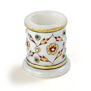 Marvel In Marble - Toothpick Holder-028