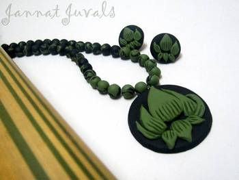 Black and Green Lotus set