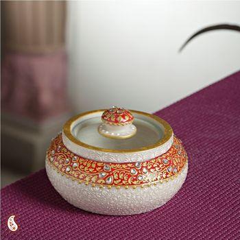 Multi Utility Marble Jar
