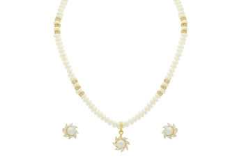NATURAL FRESH WATER PEARLS NECKLACE SET