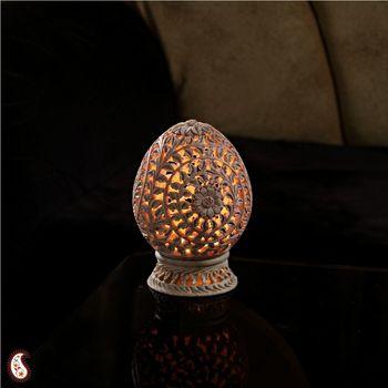 Charming  Carved Tea Light Holder