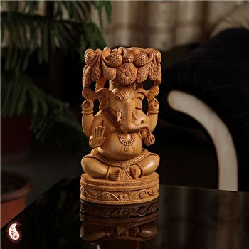 Pleasingly carved Ganesh