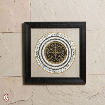 A Exciting  black frame with Dhokra Work