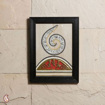 Elegantly Handcrafted Dhokra Wall Hanging
