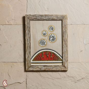 An Exotic wall hanging with Dhokra work