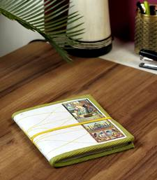 Buy Miniature Diary with Traditional Art Print on Hand Made Paper stationery online