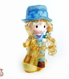 Buy Ceramic love Doll on a Toy Horse  stationery online