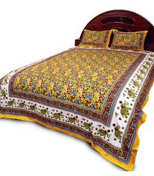 Rajasthani Bright Colourful Double Bed Sheet Set Diwali Special Gift 27Y