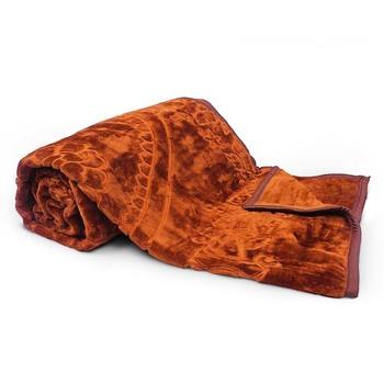 Rich Look Soft Korean Single Bed Embossed Blanket Diwali Special Gift 109