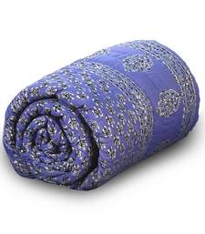 Pure Cotton Jaipuri Handblock Single Bed Comforter Deepawali Special Gift 209