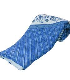 Buy Jaipuri Block Print Cotton Double Bed Razai Quilt Diwali Special Gift 313 jaipuri-razai online