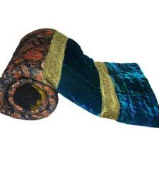 Buy Rajasthani Design Green Double Bed Velvet Quilt Diwali Gift 403 jaipuri-razai online