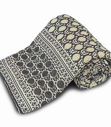 Famous Jaipuri Style Cotton Single Bed Razai Quilt Diwali Gift 106