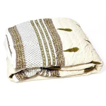 New Sanganeri Design Style Print Single Bed Quilt Deepawali Gift 322