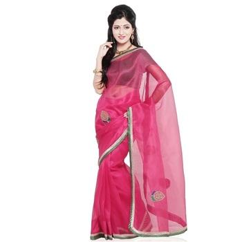 Exclusive Design Super Net Pure Cotton Sari Blouse Diwali Gift 216