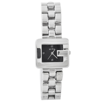 Designer Square G Shape Glossy Finish Ladies Watch Diwali Special Gift 220